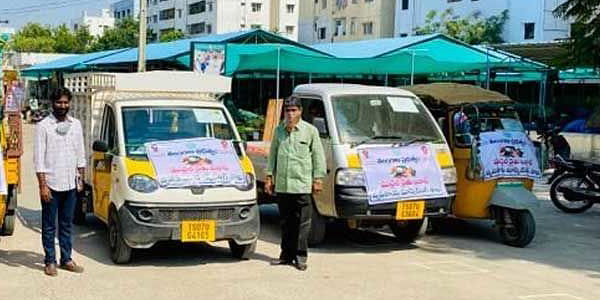 Mobile Rythu Bazars