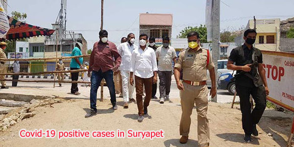 Covid-19 positive cases in Suryapet