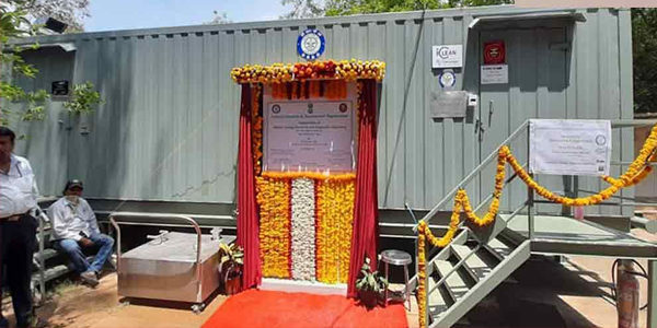 First Mobile Virology Lab In Hyderabad